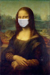 La Joconde portant un masque