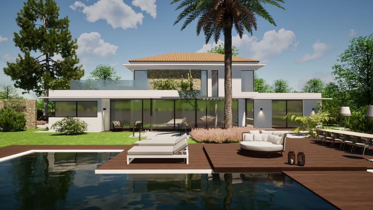 rénovation villa prestige