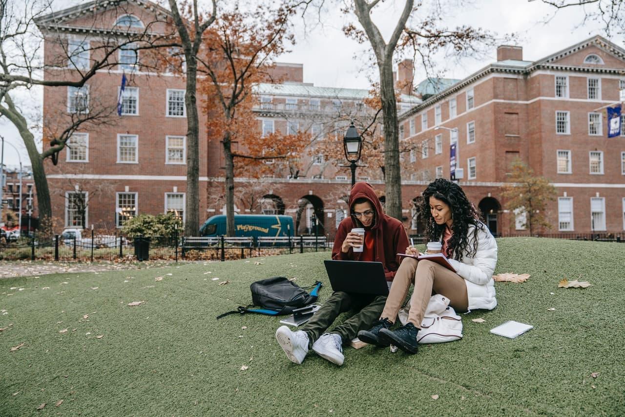 étudiants aux Etats-Unis