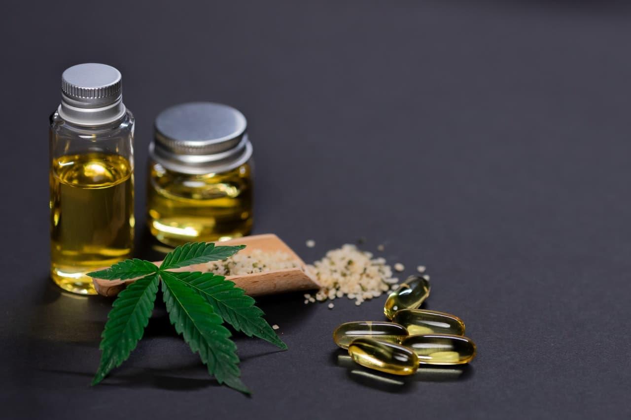 huile naturelle de CBD