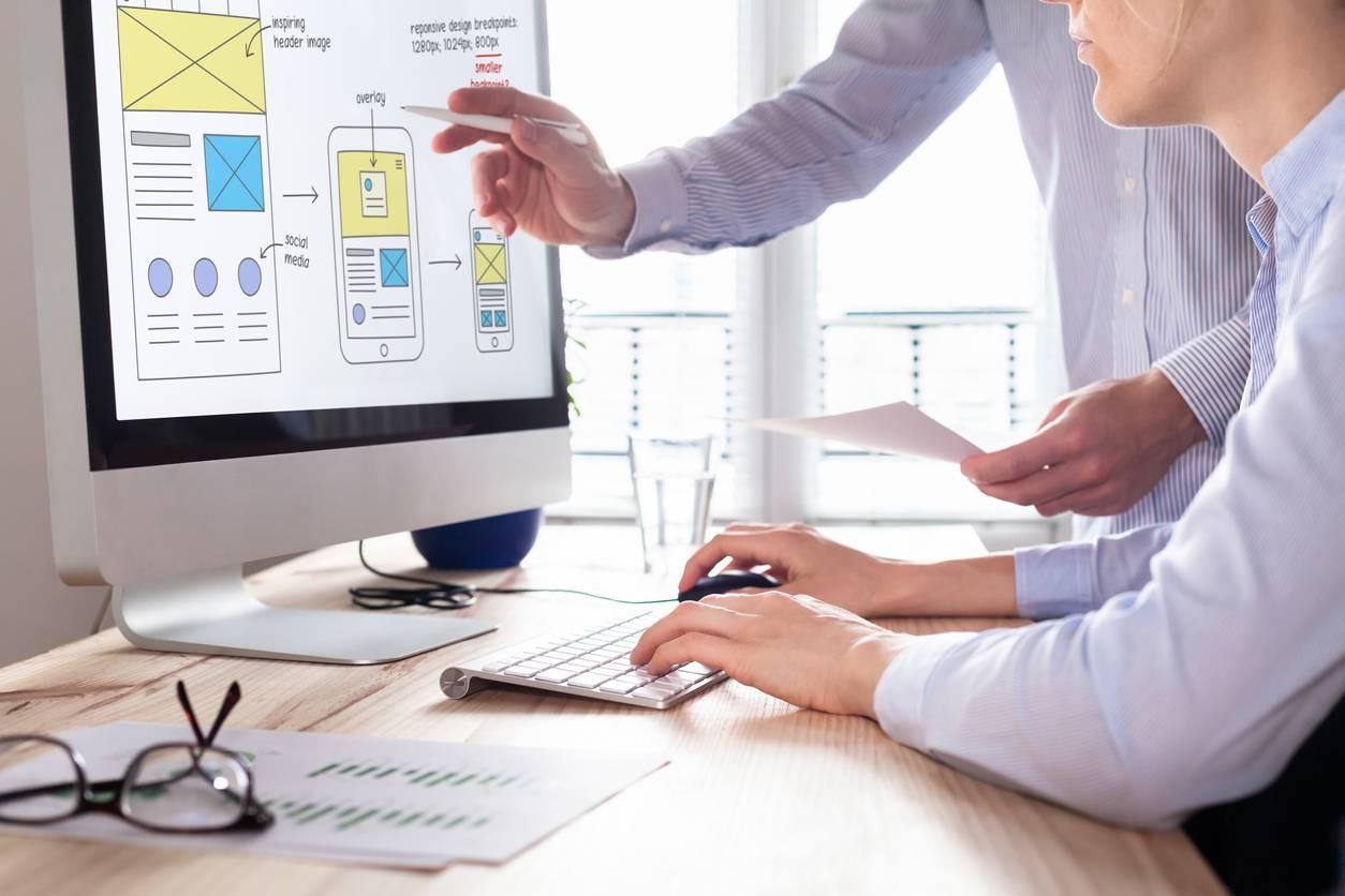 business développement création site web